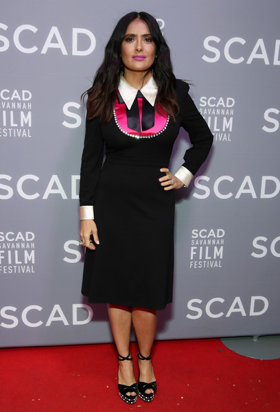Salma Hayek Cocktail Dress