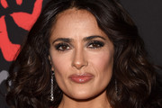 Salma Hayek Medium Curls