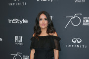 Salma Hayek Off-the-Shoulder Dress
