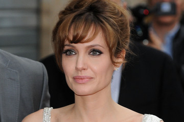 Angelina Jolie Shimmers (Again) In Paris for 'Salt'