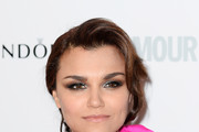 Samantha Barks Smoky Eyes