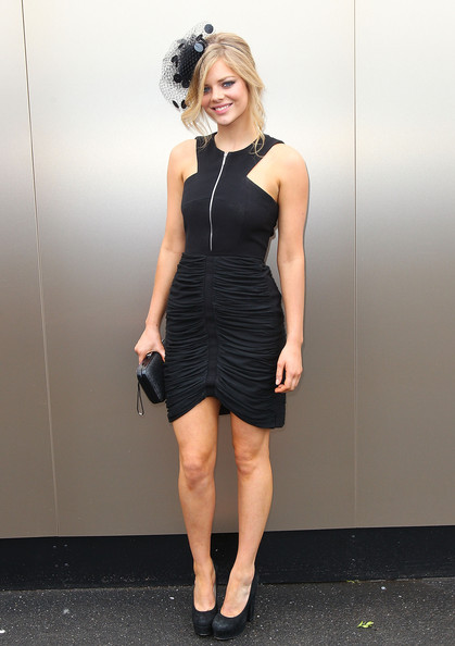 Samara Weaving Platform Pumps