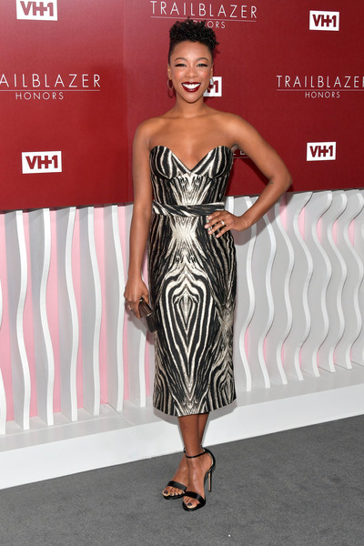 Samira Wiley Strapless Dress []