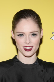 Coco Rocha attended the Tribeca Snapchat Shorts premiere rocking a tight, wet-look ponytail.