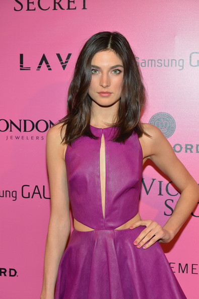 More Pics of Jacquelyn Jablonski Leather Dress (1 of 2) - Leather Dress Lookbook - StyleBistro