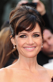 Carla Gugino went for some retro flair with this beehive at the 'San Andreas' UK premiere.