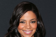 Sanaa Lathan Long Wavy Cut