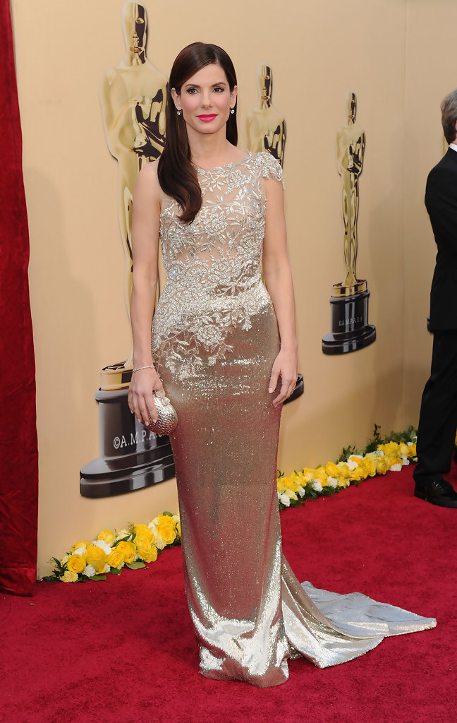 Sandra Bullock Evening Dress - Sandra Bullock Looks ...