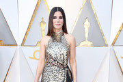 Sandra Bullock Halter Dress