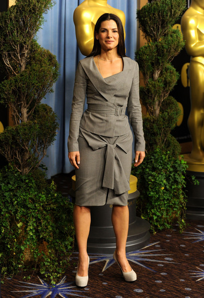 Sandra Bullock Skirt Suit