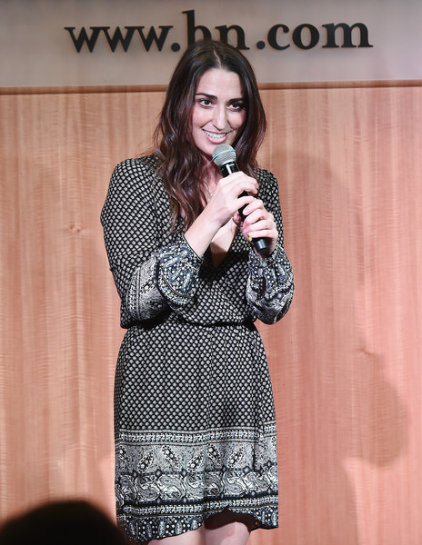 Sara Bareilles Print Dress