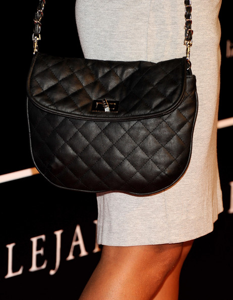 Sara Carbonero Quilted Leather Bag