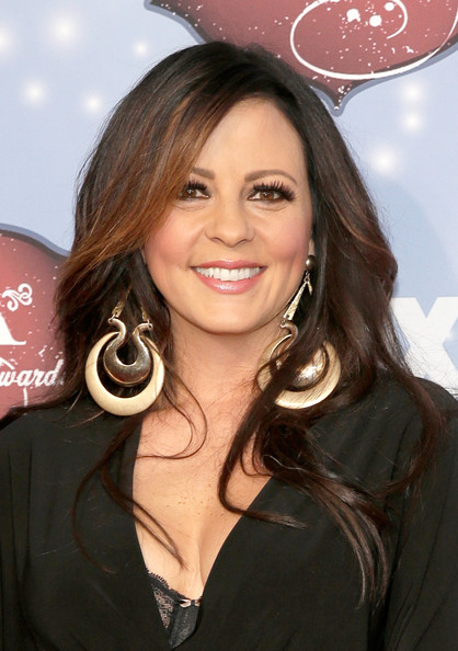 Sara Evans Long Side Part
