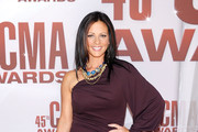 Sara Evans One Shoulder Dress