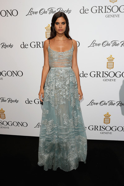 Sara Sampaio Embroidered Dress