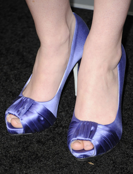 Sarah Drew Peep Toe Pumps