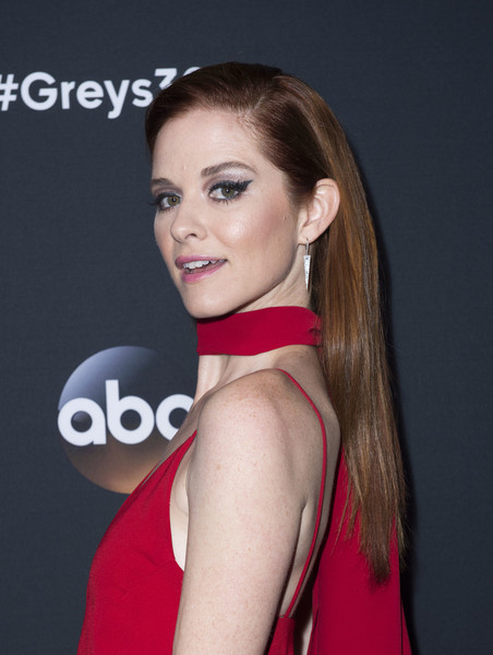 Sarah Drew Long Straight Cut