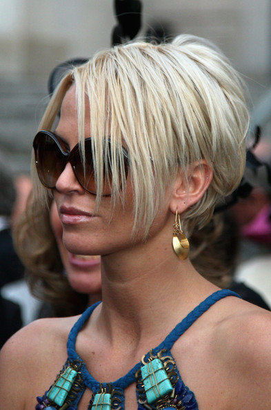 Sarah Harding Gold Dangle Earrings