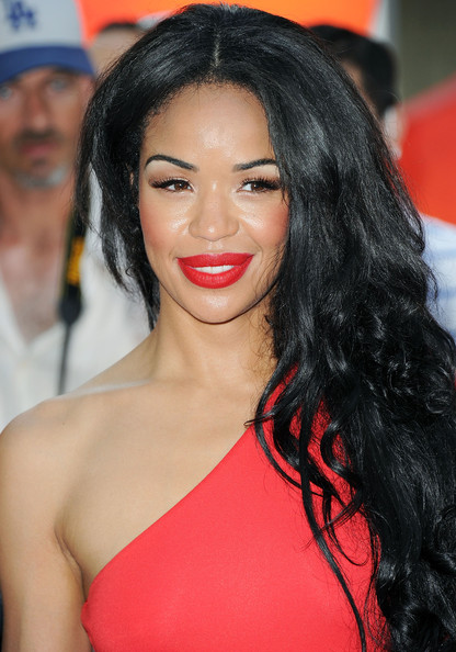 Sarah-Jane Crawford Red Lipstick