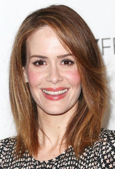 Sarah Paulson Medium Layered Cut