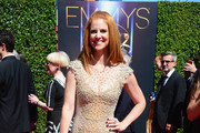 Sarah Rafferty Beaded Dress