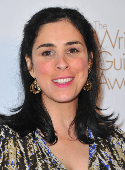 Sarah Silverman Gold Dangle Earrings
