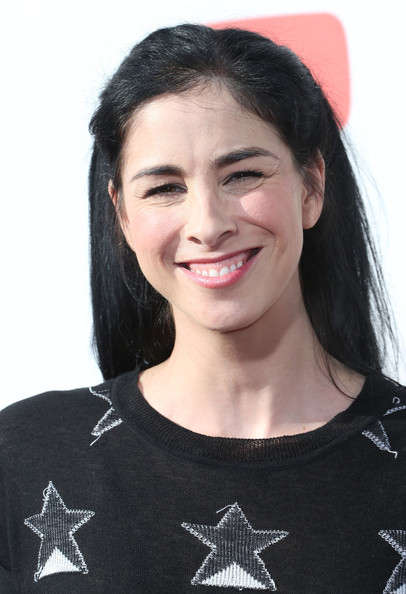 Sarah Silverman Half Up Half Down
