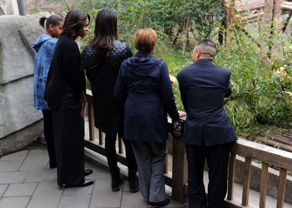Michelle Obama Travels to China: Day 7