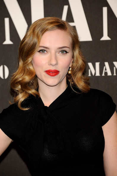 Scarlett+Johansson in Scarlett Johansson Attends 'Mango New Collection Launch Party' in Madrid