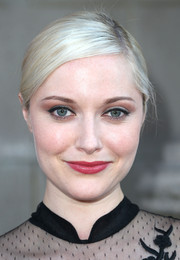 Georgina Haig opted for a simple yet classic side-parted bun when she attended the 'Once Upon a Time' season 4 screening.