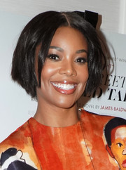 Gabrielle Union attended the screening of 'If Beale Street Could Talk' wearing her hair in a cute center-parted bob.