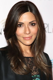 Marisol Nichols wore her gorgeous shiny mane in long sleek layers for a screening of 'Girl In Progress.'