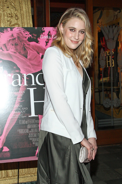 More Pics of Greta Gerwig Long Wavy Cut (5 of 8) - Long Wavy Cut Lookbook - StyleBistro