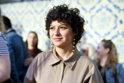 Alia Shawkat attended the 'Search Party' FYC event wearing her signature short curls.