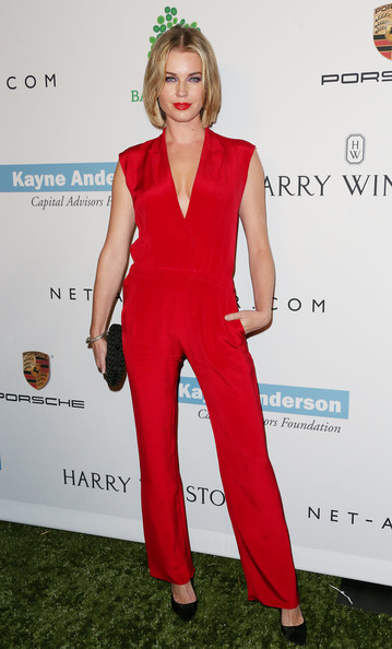 More Pics of Rebecca Romijn Jumpsuit (1 of 9) - Rebecca Romijn Lookbook - StyleBistro