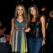 Melissa Gorga (in M Missoni) and Teresa Guidice at Moynihan Station
