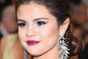 Selena Gomez Dangling Diamond Earrings