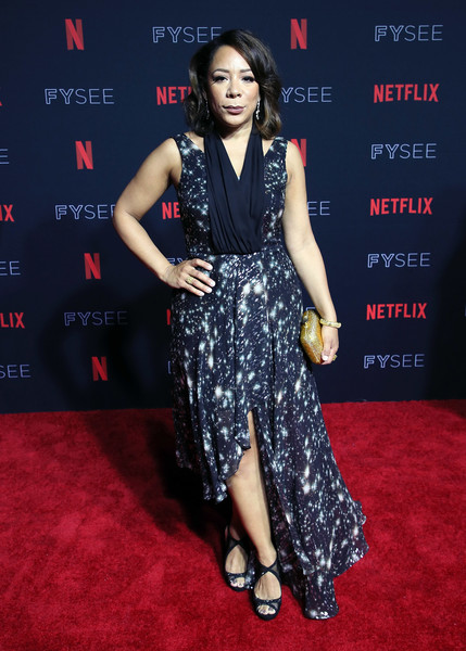 Selenis Leyva Print Dress