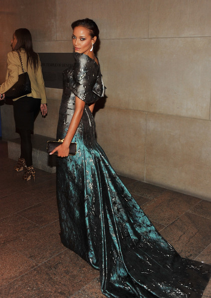 Selita Ebanks Satin Clutch