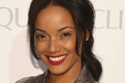 Selita Ebanks Red Lipstick