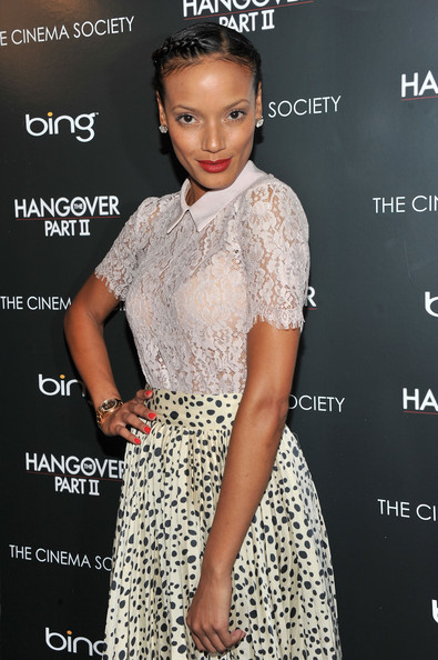 Selita Ebanks Braided Bun