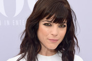 Selma Blair Medium Wavy Cut with Bangs