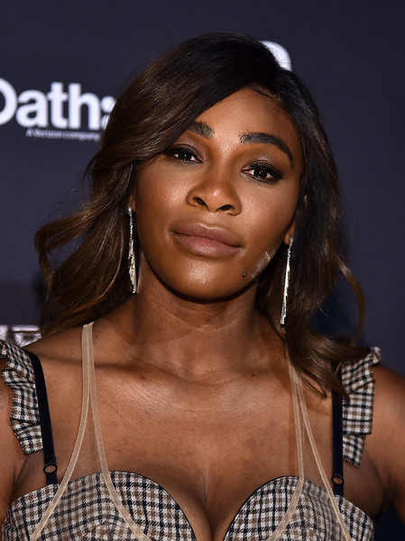 Serena Williams Long Wavy Cut