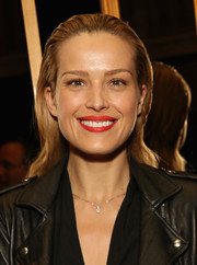Petra Nemcova sported a slicked-back 'do with just a slight wave during the premiere of 'Serena.'