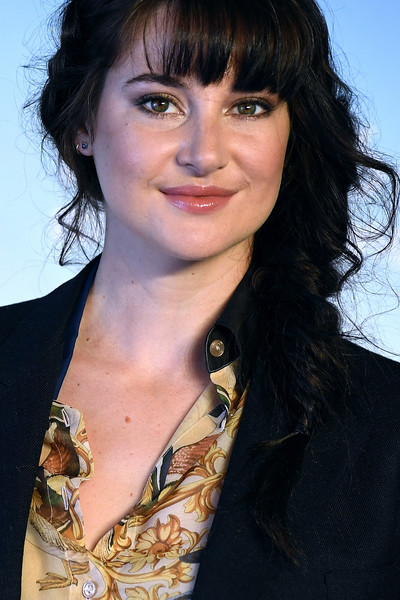 More Pics of Shailene Woodley Loose Braid (1 of 13) - Updos Lookbook - StyleBistro [hair,hairstyle,black hair,chin,eyebrow,layered hair,long hair,bangs,brown hair,feathered hair,shailene woodley,photocall,photocall - 44th,deauville,france,deauville american film festival]