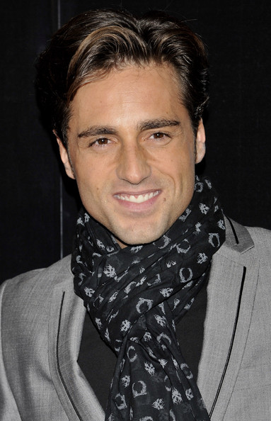 More Pics of David Bustamante Patterned Scarf (1 of 5) - David Bustamante Lookbook - StyleBistro