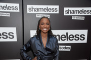 Shanola Hampton Wrap Dress