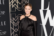 Shantel VanSanten Off-the-Shoulder Dress