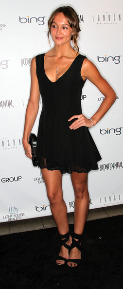 Sharni Vinson Little Black Dress