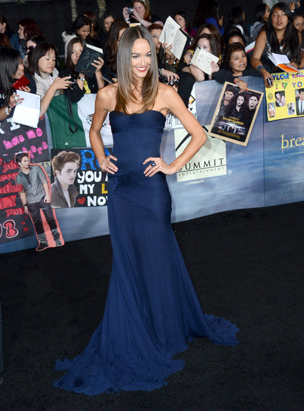 Sharni Vinson Strapless Dress